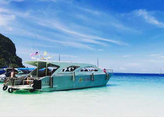 Phi Phi Khai by Catamaran Tour