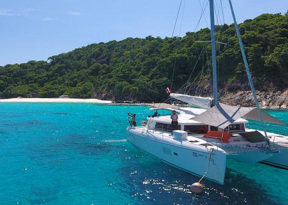 Khai Islands by Catamaran Tour